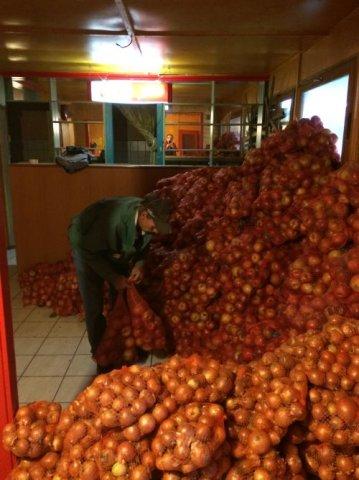 Kedvezményes burgonya, alma és hagyma vásár, Kerekharaszt, 2016. 10. 08.