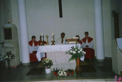 Templomi ünnepély